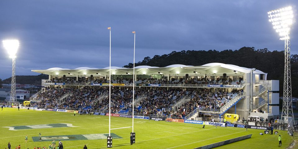 Northland Events Centre rugby field