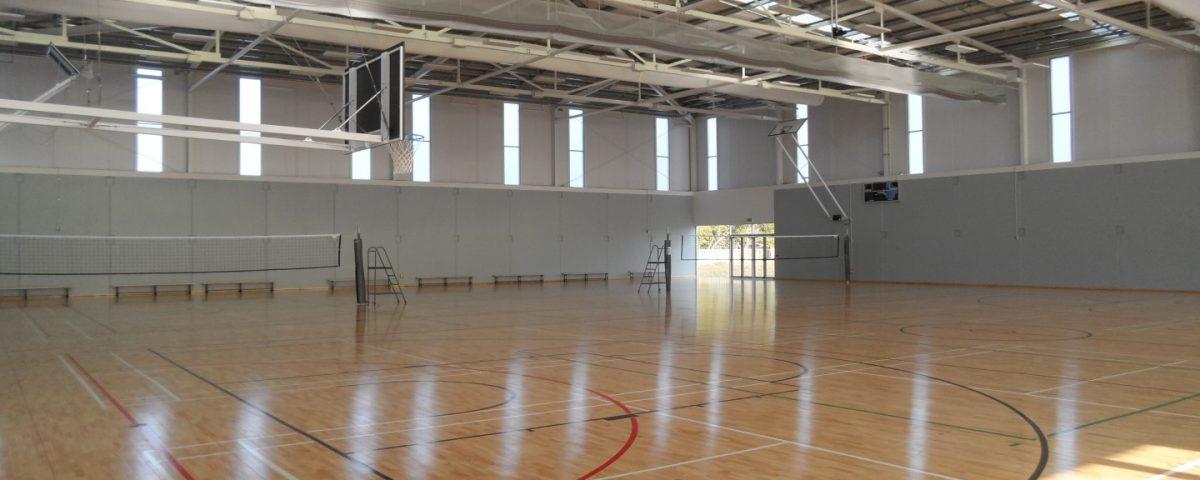 South Waikato Sports & Events Centre gym court